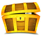 Hiding Inside Treasure Chest Stock Photos
