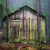 Hiding shed Royalty Free Stock Photo