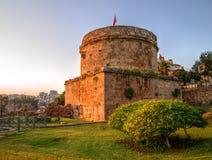Hidirlik Tower, Antalya, Turkey Royalty Free Stock Image