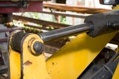 Hidráulica e projeto da máquina escavadora imagem de stock royalty free