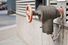 火Hidrant 免版税图库摄影