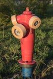 火Hidrant 免版税库存图片