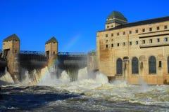 Hidro central elétrica foto de stock royalty free