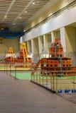 Hidro central elétrica Fotos de Stock Royalty Free