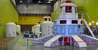 Hidro central elétrica Imagem de Stock Royalty Free