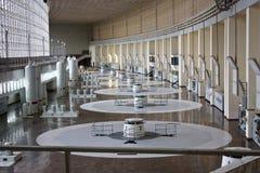 Hidro central energética Imagem de Stock Royalty Free