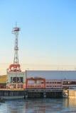 Hidro estação da energia elétrica Foto de Stock