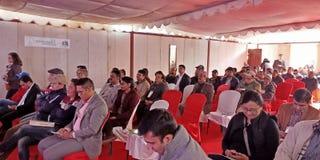 Hidro expo 2074 em Nepal fotografia de stock
