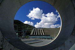 Hidro represa, Nova Zelândia. Imagens de Stock