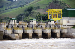 Hidro Strom-Anlage Stockfotos