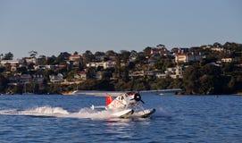 Hidroavião de Sydney fotografia de stock royalty free