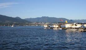 Hidroaviones Vancouver Canadá Foto de archivo libre de regalías