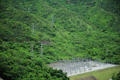 Hidroelectricidad Fotografía de archivo libre de regalías
