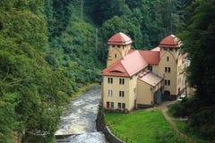 Hidroelectricidad en Polonia Fotografía de archivo libre de regalías