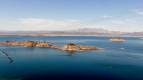Hidromel do lago, tiro largo panorâmico do ângulo