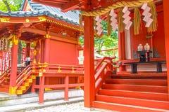 Hie Shrine, Tokyo. Interior of a shrine in Tokyo, Japan Stock Image