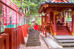 Hie Shrine, Tokyo, Japan. Interior of a shrine in Tokyo, Japan Royalty Free Stock Image