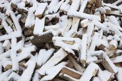 Hieb-Holz Stockbilder