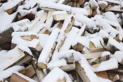 Hieb-Holz Lizenzfreie Stockfotos
