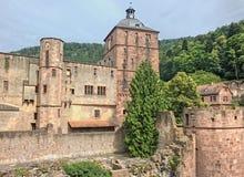 Hiedleberg é uma cidade velha de tamanho médio em Alemanha imagem de stock