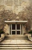 Hiedra en el edificio de la universidad Fotografía de archivo
