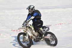 Hiele competir con 2017, Januray 22, Santioana de Mures, Rumania Fotografía de archivo