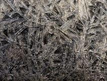 Hielo abstracto Foto de archivo libre de regalías