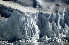 Hielo antártico quebradizo Fotografía de archivo