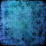 Hielo antiguo apenado de las cartas - fondo sucio Imagen de archivo libre de regalías