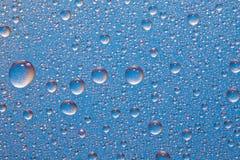 Hielo azul Imagen de archivo libre de regalías