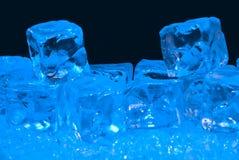 Hielo azul Imagenes de archivo
