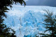 Hielo azul Perito Moreno Glacier fotografía de archivo libre de regalías