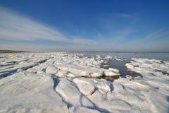 Hielo de paquete de Groenlandia Fotos de archivo
