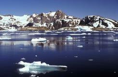 Hielo de paquete Groenlandia del este Fotografía de archivo libre de regalías