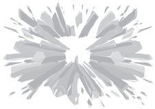 Hielo de plata Imagen de archivo