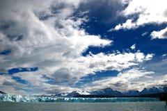 Hielo del glaciar Fotos de archivo libres de regalías