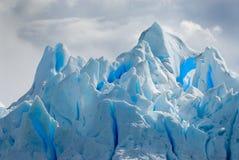 Hielo del glaciar en Patagonia Imagen de archivo libre de regalías
