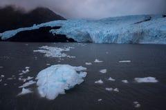 Hielo del lago Portage Imagenes de archivo