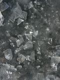 Hielo en el lago Foto de archivo