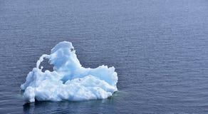 Hielo en el océano Imagen de archivo libre de regalías