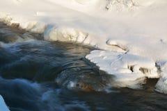 Hielo en el río Imagen de archivo