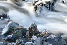 Hielo en las rocas Imagenes de archivo