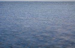 Hielo fino en el mar Foto de archivo
