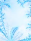 Hielo-flores Foto de archivo libre de regalías
