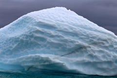 Hielo glacial modelado, la Antártida Fotografía de archivo libre de regalías