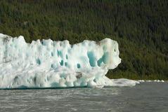 Hielo parido del glaciar de Mendenhall, Juneau, Alaska fotografía de archivo