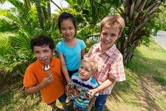 Hielo-parque Fotografía de archivo libre de regalías