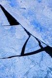Hielo quebrado Imagen de archivo libre de regalías