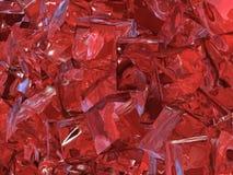 Hielo rojo Foto de archivo
