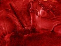 Hielo rojo Imágenes de archivo libres de regalías